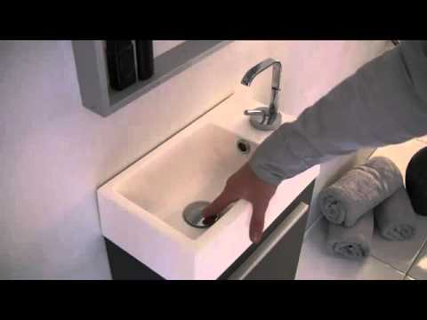 Youtube Modern Bathroom Vanity fresca pulito small black modern bathroom vanity w tall mirror f