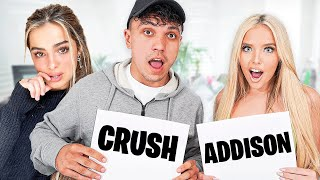 Would You Rather Date Addison Rae or Crush?