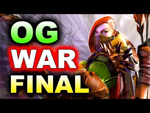 OG vs WAR - EU GRAND FINAL - THE INTERNATIONAL 2018 DOTA 2