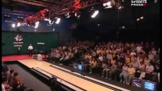 2007 World Tenpin Masters Semi Final 1 Barnes vs Belmonte Part 1