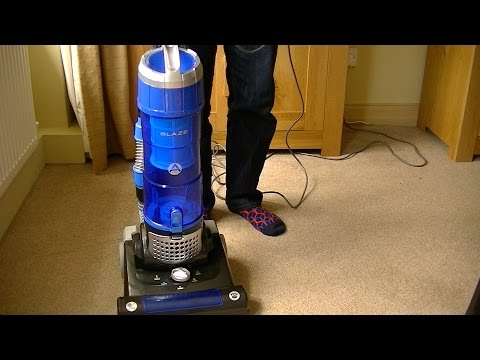 Hoover Blaze Pets Bagless Upright Vacuum Cleaner Unboxing, Assembly & First Look
