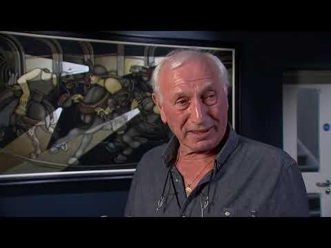 ITV News At 10 Report On Mining Art Gallery