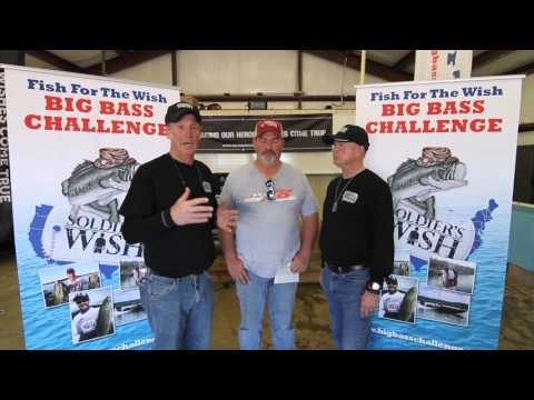 2016 Lake Hamilton Fish for the Wish Big Bass Challenge overall winner Gwinn