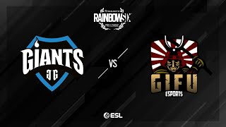 Giants Gaming vs. GiFu eSports - Coastline - Rainbow Six Pro League - Season X - EU