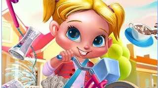 """Paper Girl Morning Madness """"Tabtale Casual Games """"Open All Part""""Last Update Android Gameplay Video"""