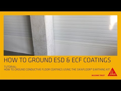 How To Ground ESD&ECF Coatings