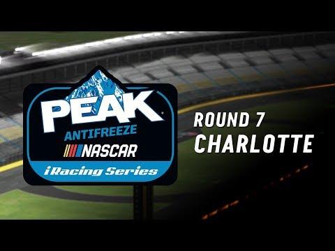 NASCAR PEAK Antifreeze iRacing Series   Round 7 at Charlotte