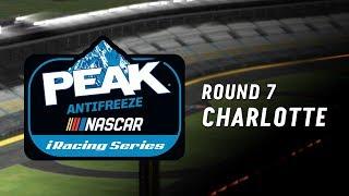NASCAR PEAK Antifreeze iRacing Series | Round 7 at Charlotte thumbnail