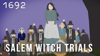 The Salem Witch Trials (1692) Cartoon