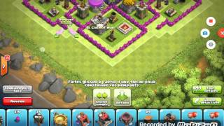 Clash Of Clans [《 hdv 8 farming 》] avec replay