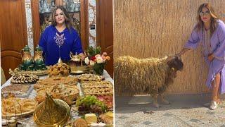 يوم عيد الاضحى /طاولة الافطار /الكرداس/ المروزية