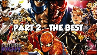 TOP 5 UPDATES (PART 2 - THE BEST) - Marvel Future Fight