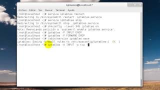 Como configurar el firewall en CentOS 7 Server   Sistemas Operativos III (Tutorial)
