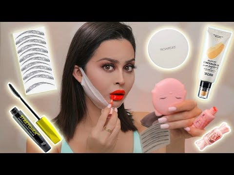 TRYING WEIRD KOREAN BEAUTY PRODUCTS