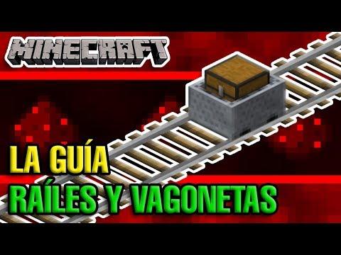 Raíles Y Vagonetas Tutorialaco - Minecraft 1.13.2