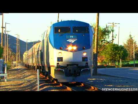 Thumbnail: Amtrak Trains in San Juan Capistrano (January 20th, 2013)