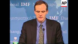 International Monetary Fund report on world economic outlook