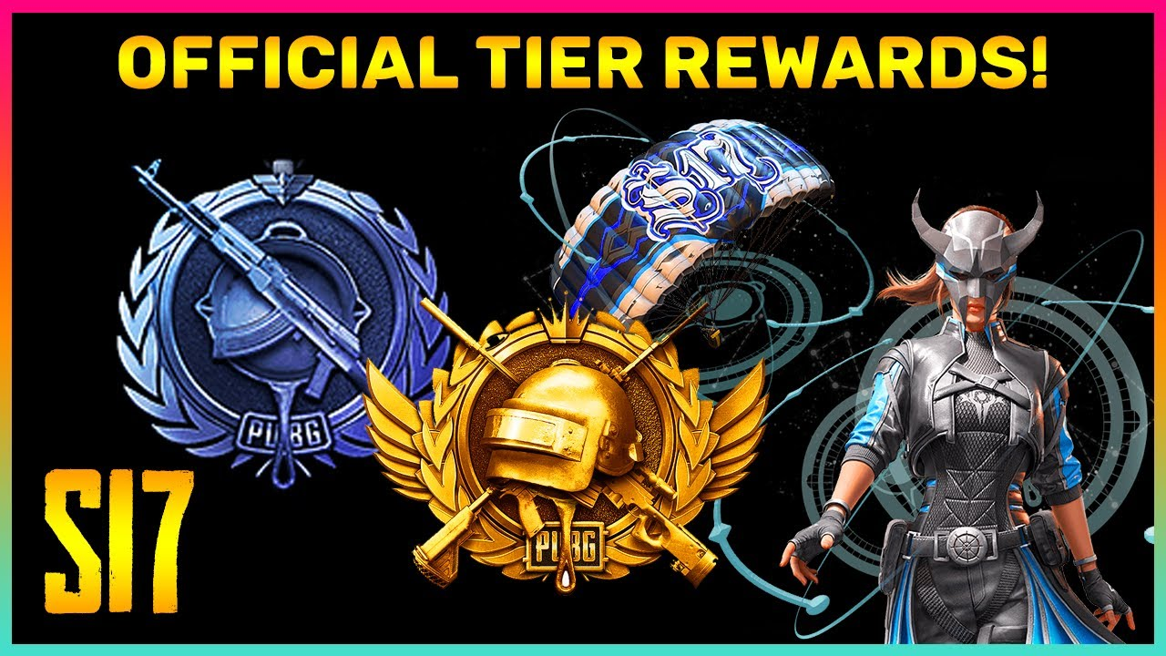 Pubg Mobile Season 17 Official All Tier Rewards || Diamond Tier Op Rewards (Hindi)