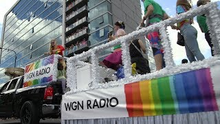 Highlights of the 2017 Chicago Pride Parade