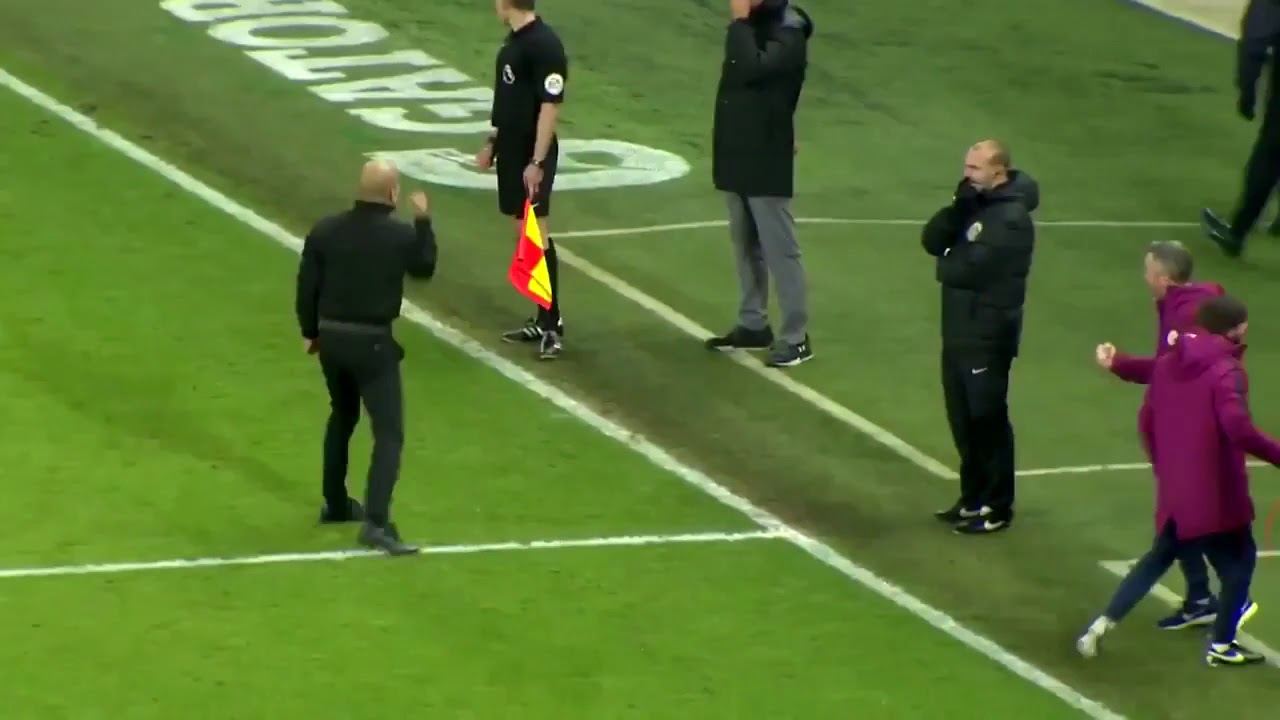 crazy Pep  a way Sterling in Guardiola after celebrating