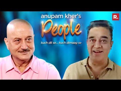 Anupam Kher's People with Kamal Haasan - June 10, 2017