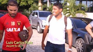 Atacante Luis Carlos Ruiz conhece o CT do Leão