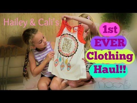 Hailey & Cali's School Cloths Haul | Part 1