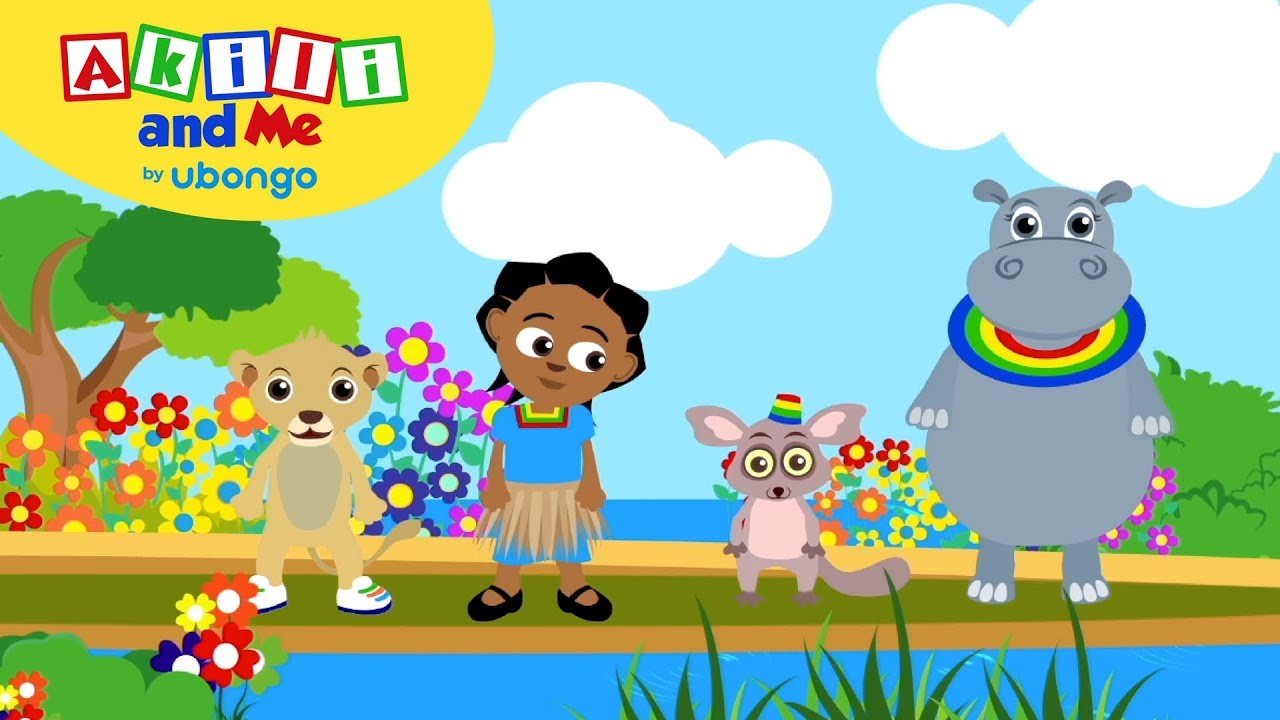 Learn New Swahili Words   Akili and Me Dance Compilation   Cartoons for Preschoolers