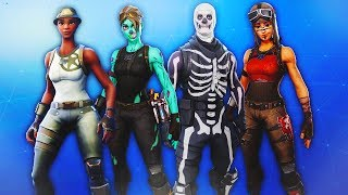 TODAS las pieles raras que regresan a Fortnite.. (Skull Trooper, Ghoul Trooper,Renegade Raider)