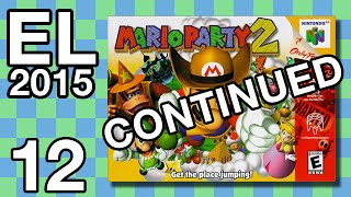 Extra Life 2015 #12 - Mario Party 2 (Continued)