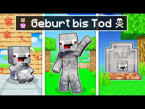 Alphastein's GEBURT bis TOD in Minecraft !
