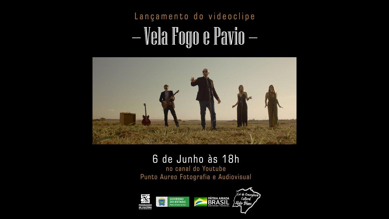 """Clipe musical - """"Vela, Fogo e Pavio"""", com Fernando Dagata"""