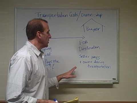 FOB Transportation Costs - Ch  5 Video 4