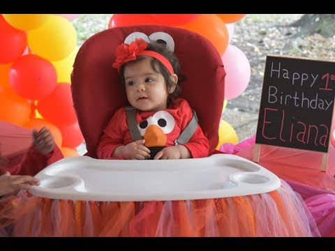 How to Decorated baby  Chair Elmo (No Sewing needed)