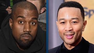 Kanye West's Tweets Seemingly Get Him in Hot Water With Pal John Legend