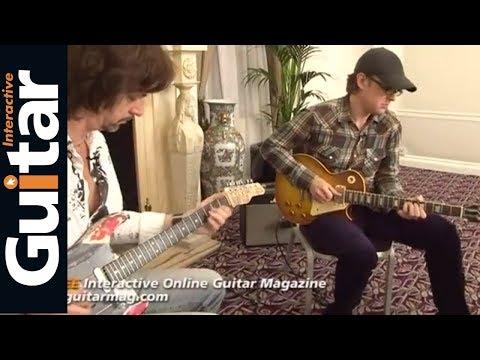 Joe Bonamassa Guitar Jam With Michael Casswell Guitar Interactive Magazine Issue 4