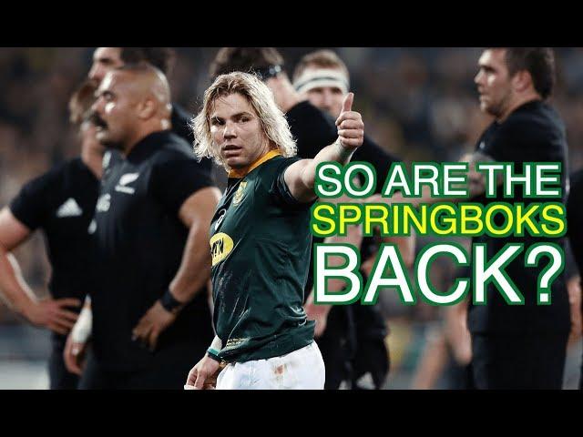 So are the Springboks back?   Squidge Rugby
