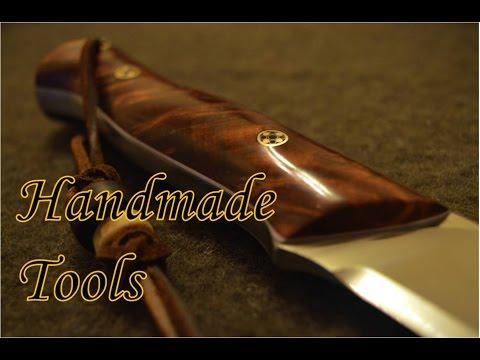 Bushcraft Tools: Knife Making, Axe Restoration and Custom Firesteels