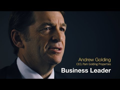 The Andrew Golding business leadership journey