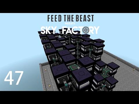 Sky Factory 3 w/ xB - ONE BILLION RF PER TICK [E47] (Minecraft Modded Sky Block)