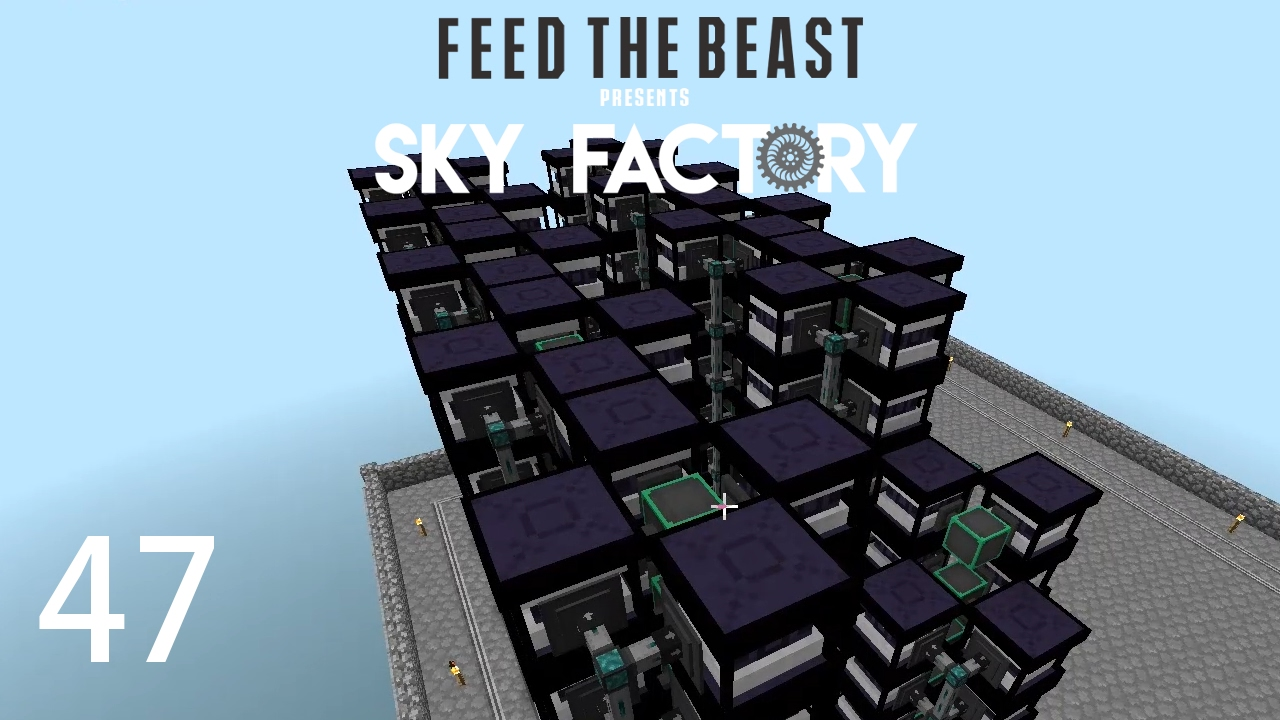 Sky Factory 3 w/ xB - ONE BILLION RF PER TICK [E47