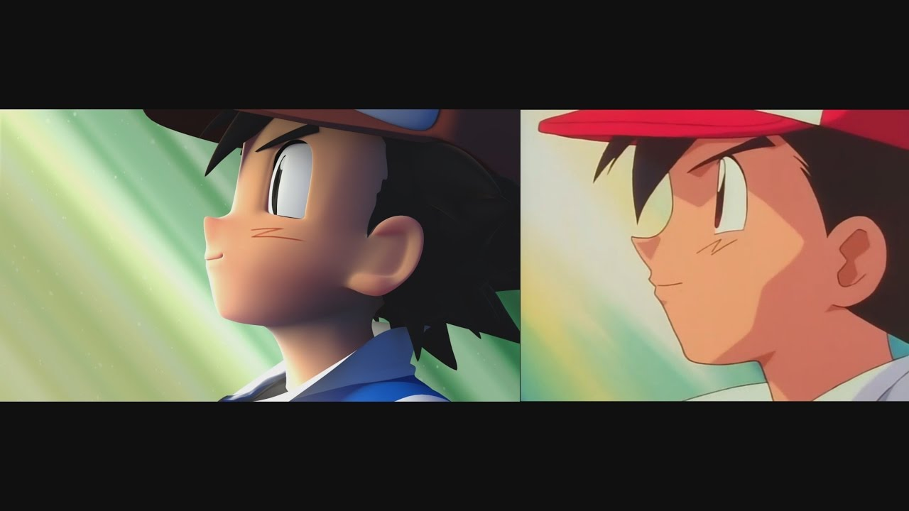 Pokemon Intro Comparison 2D Vs 3D - YouTube