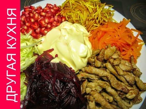 Салат с креветками russianfoodcom
