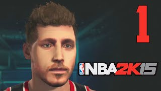 NBA 2K15 PS4 - My Player Career (Part 1 - The King