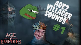 Age of Empies 2 - Villagers sound, Flickman, Buuwere, Jebuure