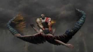 God of War II - Titan Mode - 17 - The Great Chasm - Icarus Boss Battle