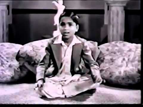 kumar gandharva in his childhoodperformance