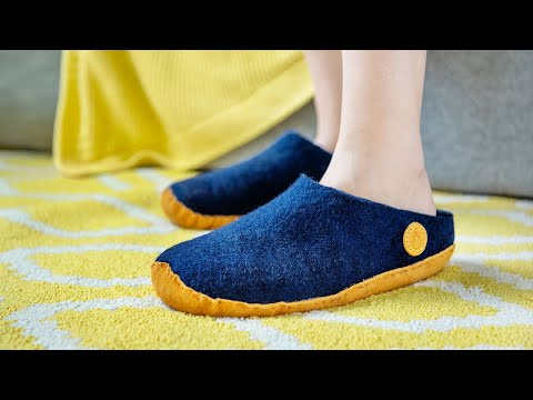 Nauseni | Wool Felt Slippers