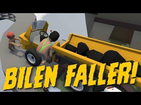 VEM SCHÅRR DEN BILEN?! | Human: Fall Flat