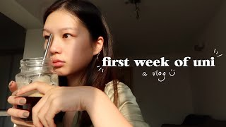 FIRST WEEK OF UNIVERSITY | a vlog